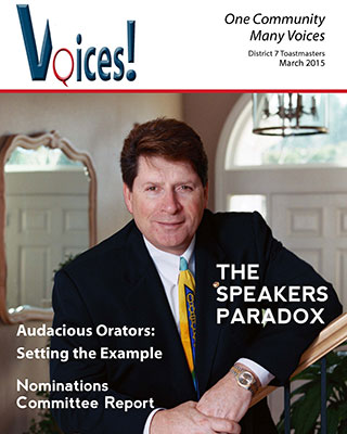 Voices! March 2015