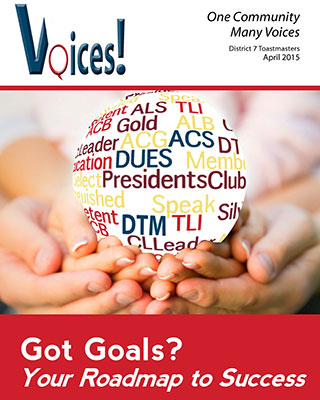 Voices! April 2015
