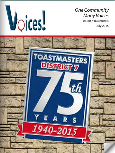 Voices! July 2015