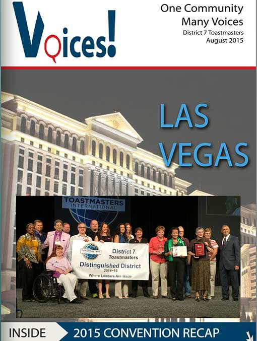Voices! August 2015