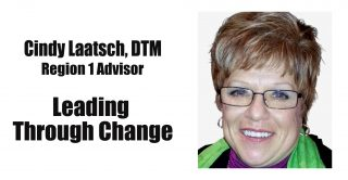 REGISTRATION NOW OPEN for Workshop with the Region 1 Advisor Cindy Laatsch, DTM: Leading through Change @ Inza R Wood Middle School | Wilsonville | Oregon | United States