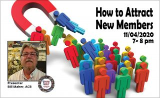 Wednesday's Wonderful Webinars: How to Attract New Members @ Online